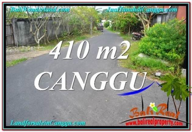 TANAH JUAL MURAH  CANGGU BALI 410 m2  Lingkungan Villa