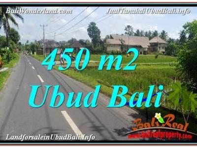 TANAH MURAH di UBUD BALI DIJUAL 5 Are View Sawah, Llink. Villa