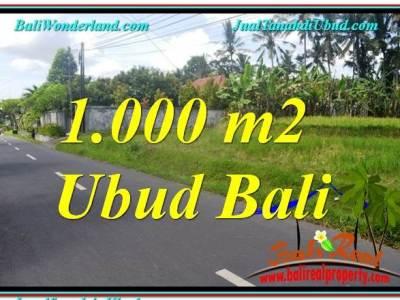 TANAH MURAH DIJUAL di UBUD BALI TJUB649