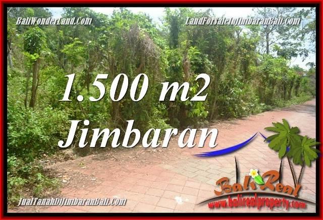 TANAH MURAH DIJUAL di JIMBARAN BALI 1,500 m2 di JIMBARAN ULUWATU