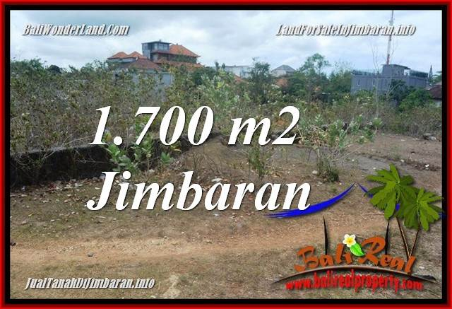 JUAL TANAH di JIMBARAN BALI 1,700 m2 di JIMBARAN UNGASAN
