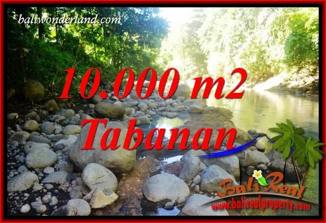 JUAL Murah Tanah di Tabanan Bali 10,000 m2  View Sawah dan Sungai