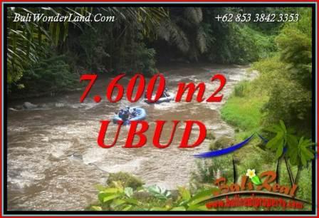 Tanah Murah di Ubud Bali jual 76 Are View sawah dan sungai ayung
