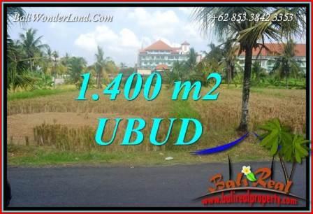 Investasi Property, Tanah Murah di Ubud Bali Dijual TJUB709