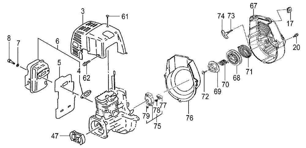 THT-2510, THT-2510S MODELS ENGINE-2