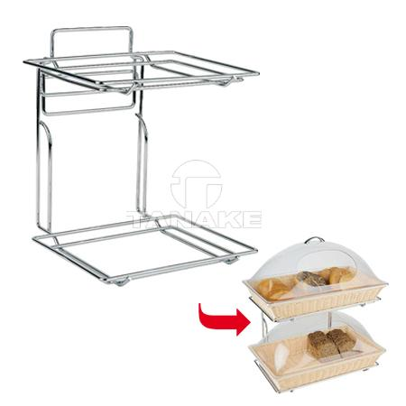 rack for trays and baskets in size gn1 1 baskets for bread bread board