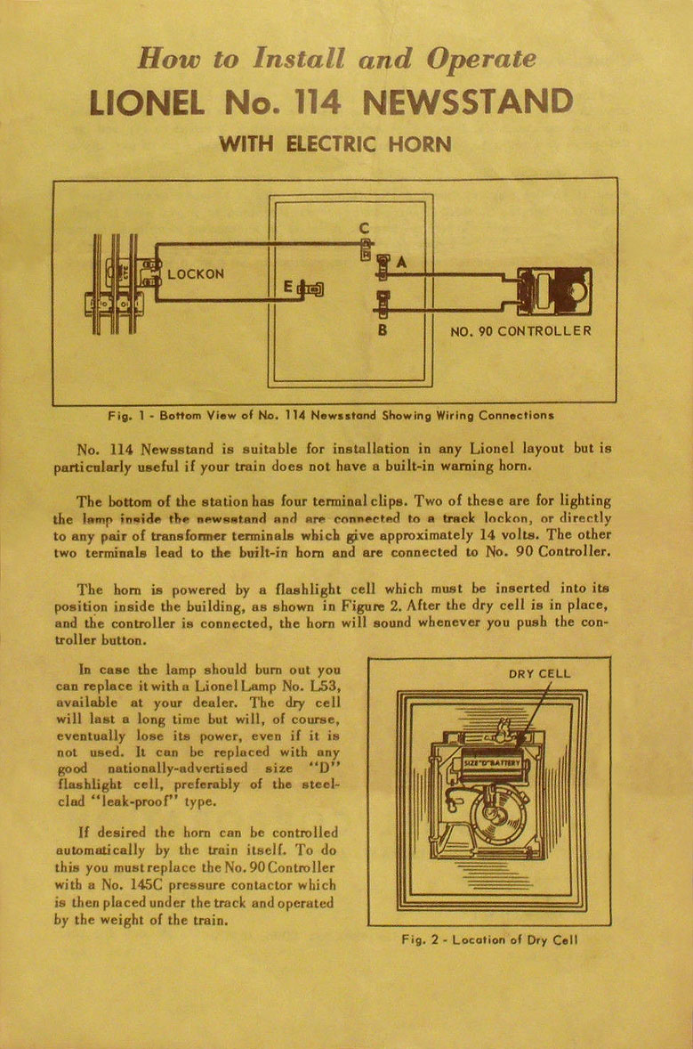medium resolution of no 114 32 instruction sheet front page