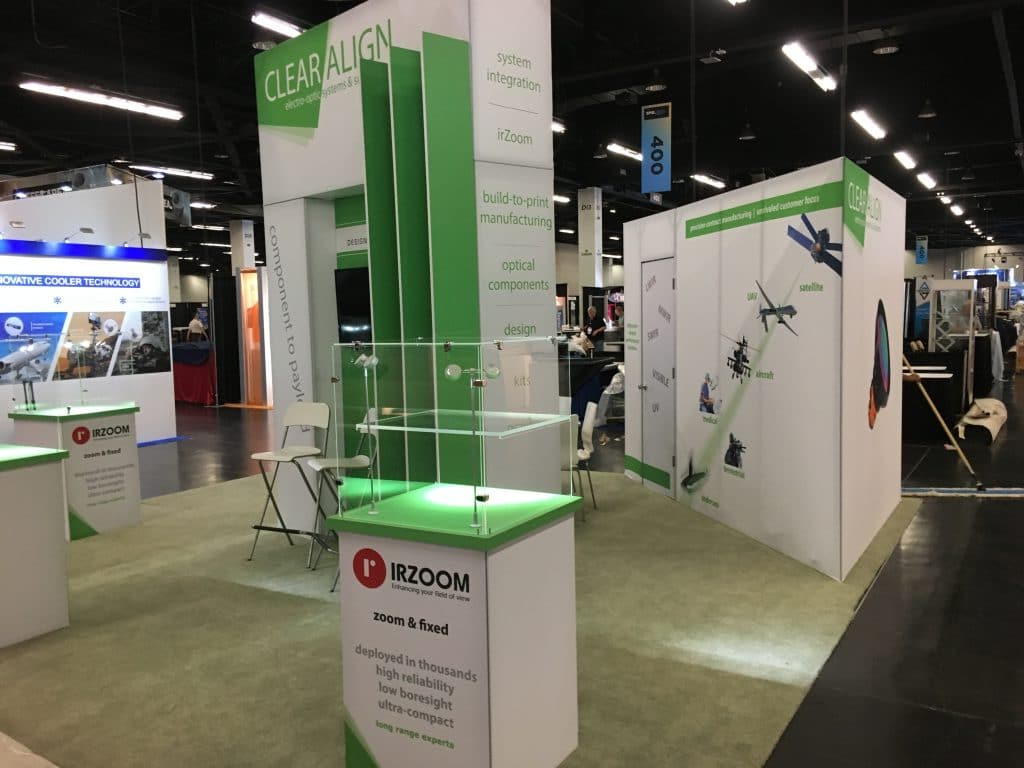 Our rental tradeshow exhibit in Anaheim, CA