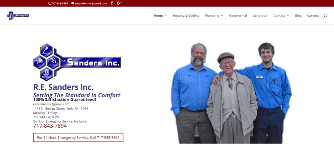 RE Sanders Inc.