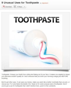 toothpasteuse