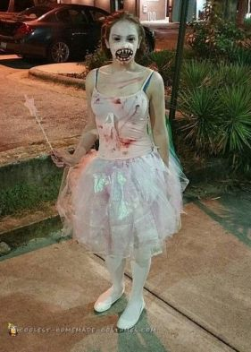 Skrämmande tandfé, Halloween, maskerad.