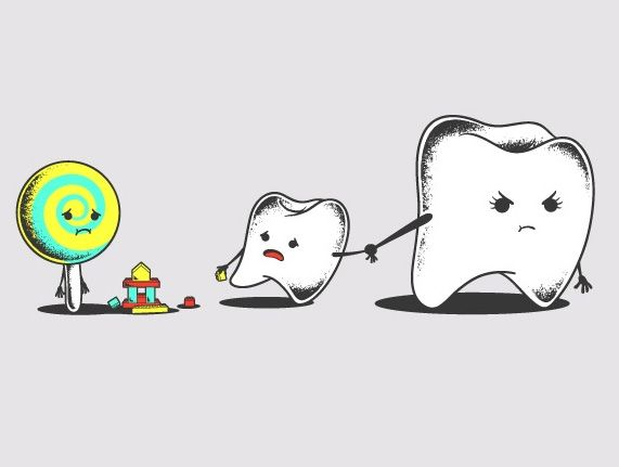Bad friend for your teeth