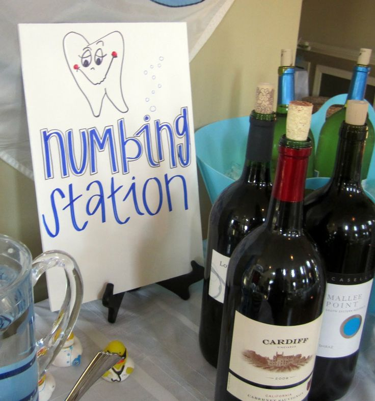 Numbing station
