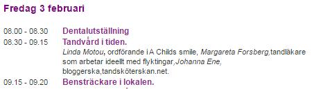 Svenska Tandsköterskeförbundet Yrkeskonferens 2017