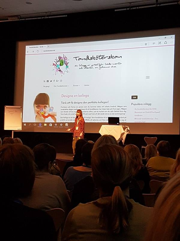Tandsköterskeförbundets Yrkeskonferens 2017