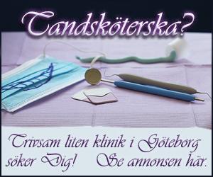 Platsannons tandsköterska Göteborg