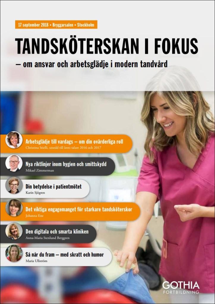 Gothia Fortbildning - Tandsköterskan i Fokus
