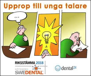 Upprop unga talare Swedental 2018
