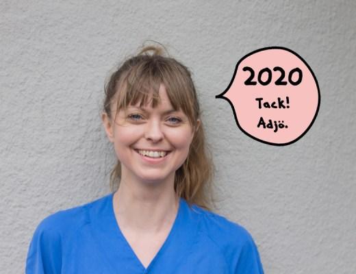 Tandsköterska Johanna Ene, 2020.