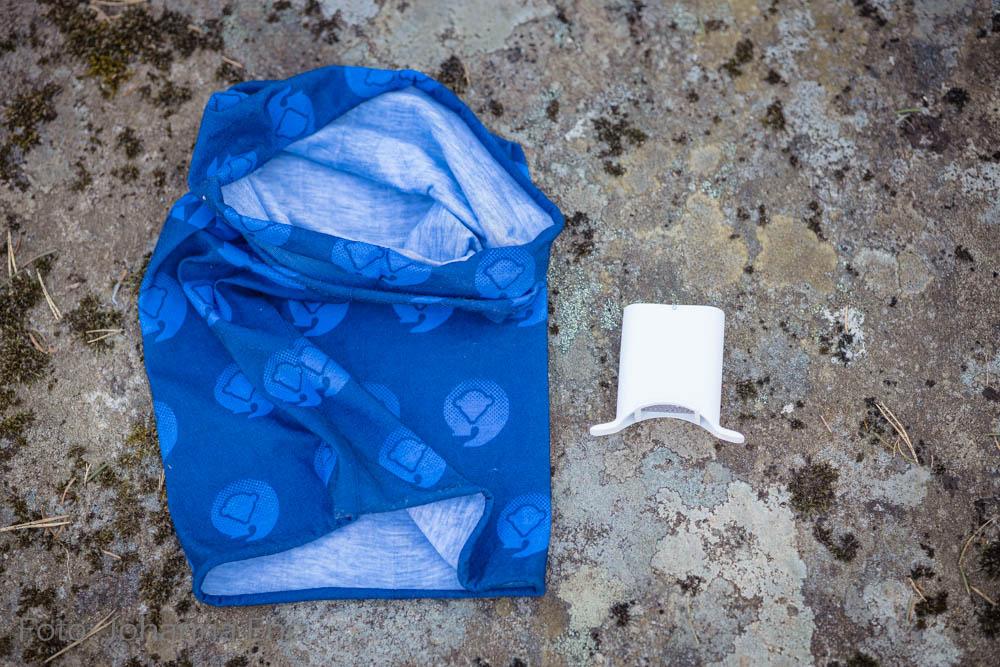 Tubhalsduk och Lungplus för astma och löpning i kyla.