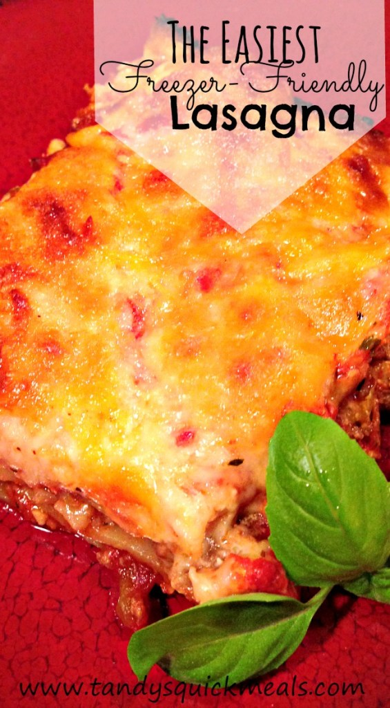 The Easiest Freezer-Friendly Lasagna