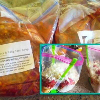 10 Freezer Meals: Steps and Recipes to Stocking the Freezer