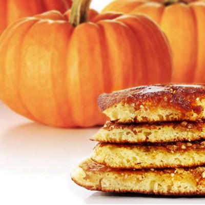 Healthy Homemade Pumpkin Pancakes