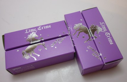 LimeCrimePackaging