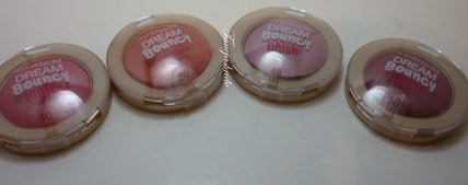 MaybellineDreamBouncyBlushes