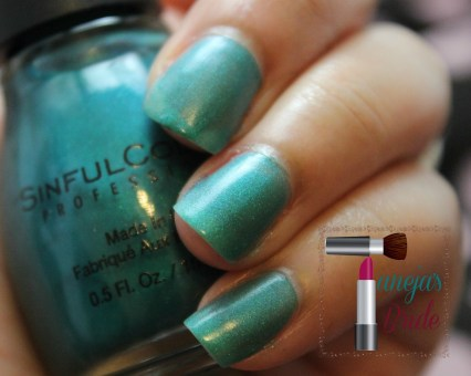 SinfulColorsRealTeal