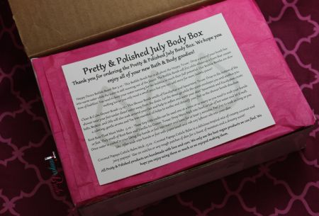 Pretty&PolishedJulyBodyBox