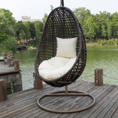 Teardrop Swing Chair In A Bag With Footrest Tanfly Tf 9721 Egg Shaped