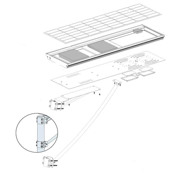 solar panel street lights, led solar street light, solar