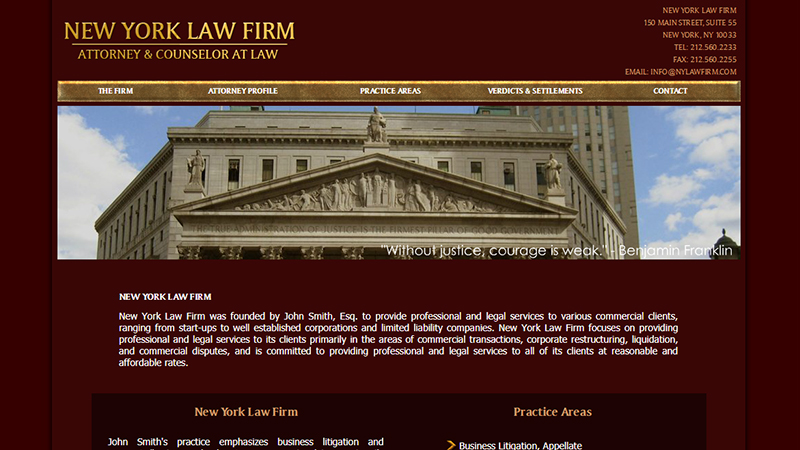 NYC Law Firm