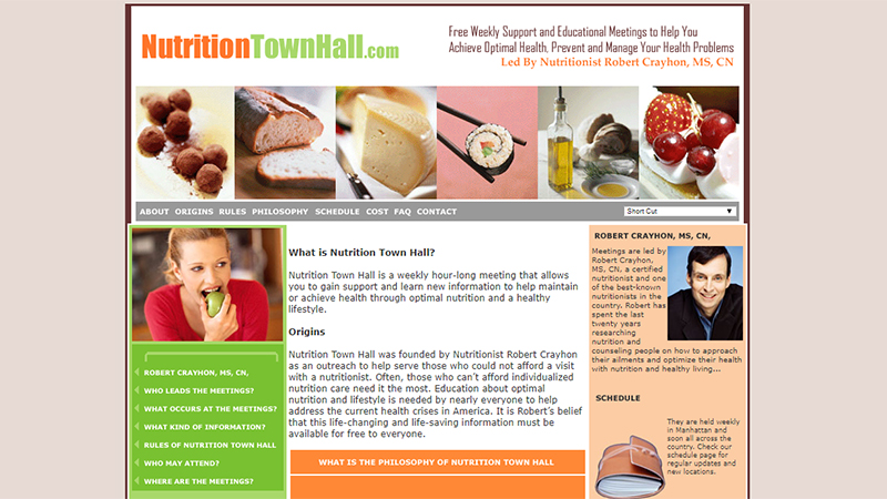 Nutrition Town Hall