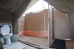 African Safari Camping site in Tanzania  Serengeti Kati Kati Tented Camp