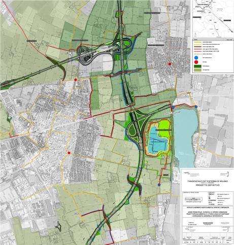 Progetti speciali ambientali  Tangenziale Esterna di Milano A58