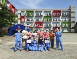 Kabar Bahagia, 23 Pasien OTG Sudah Boleh Pulang Dari Rumah Singgah Karantina Covid-19