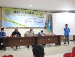 KNPI Serpong Gelar Diskusi Dengan DLH Tangsel Soal Cipeucang, Kadis Toto Sampaikan Maaf