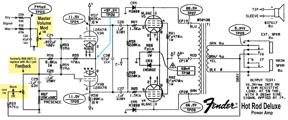 medium resolution of wiring schematic fender lead 1