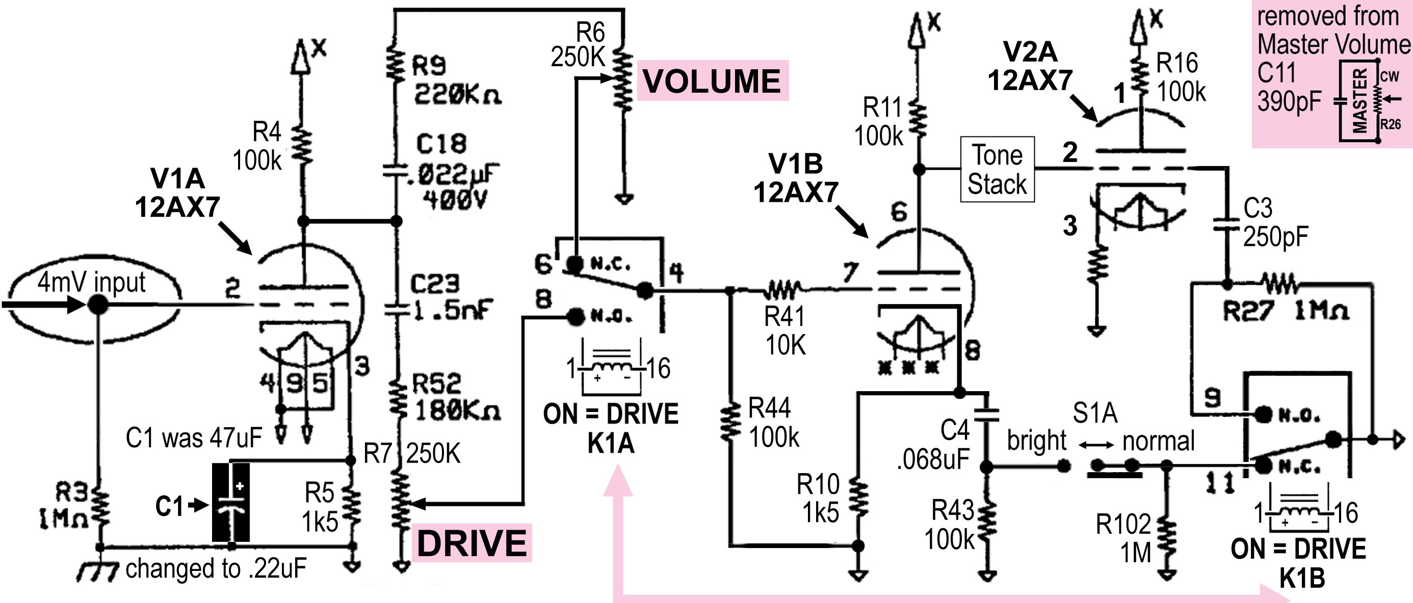 hot rod turn signal wiring diagram 91 ezgo marathon fender deluxe mods part 1 by eddie ciletti