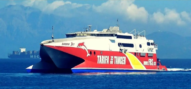 get to tangier from tarifa