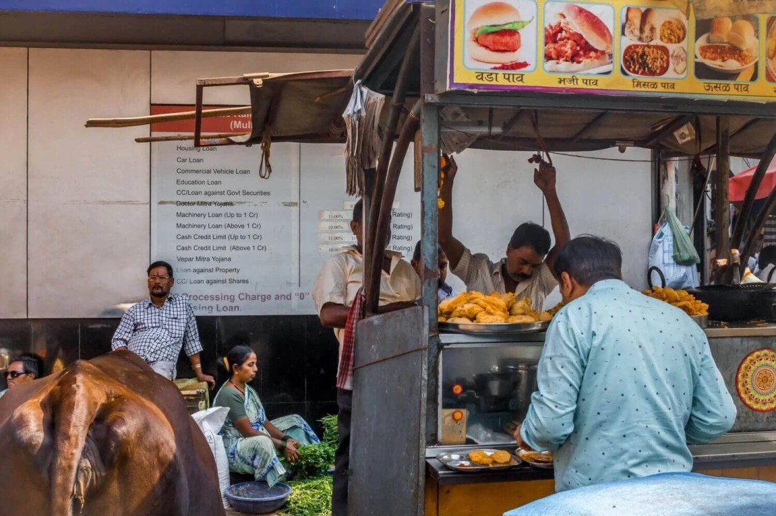 first-time-in-india-food-stall