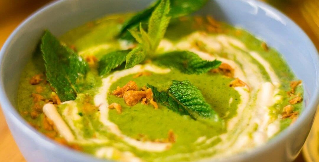 Cold Lettuce Soup