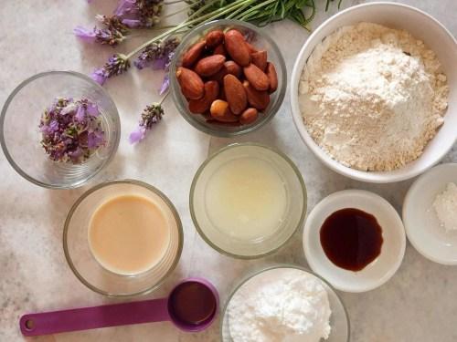 lavender nut cookies recipe ingredients