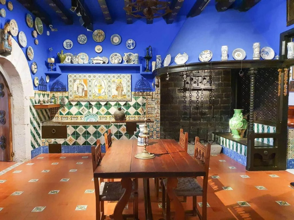 Best Things To Do In SITGES, Spain - Cau Ferrat Museum - dinning room