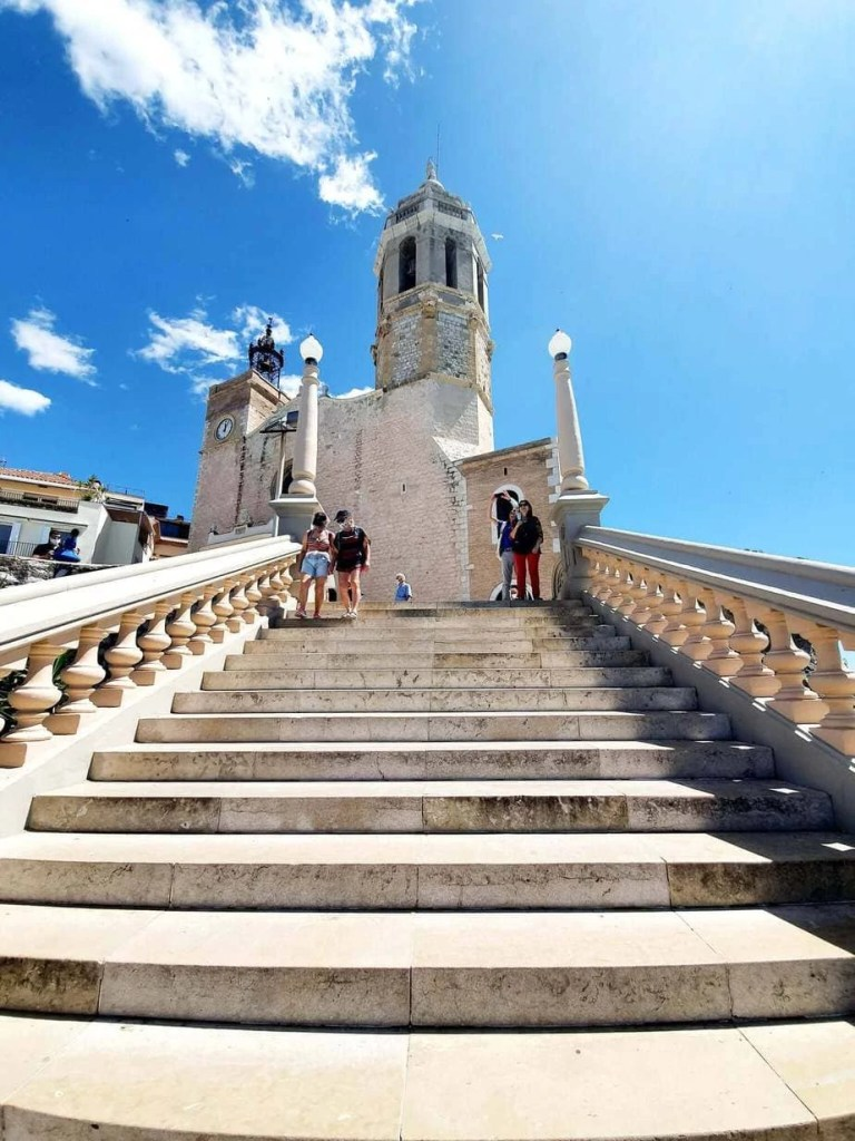 Best Things To Do In SITGES, Spain - the church