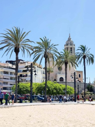 Best Things To Do In SITGES, Spain - church of sant bartomeu and santa tecla