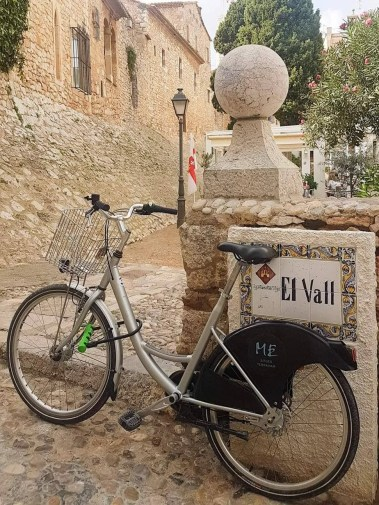 Best Things To Do In SITGES, Spain - bicycle on the street
