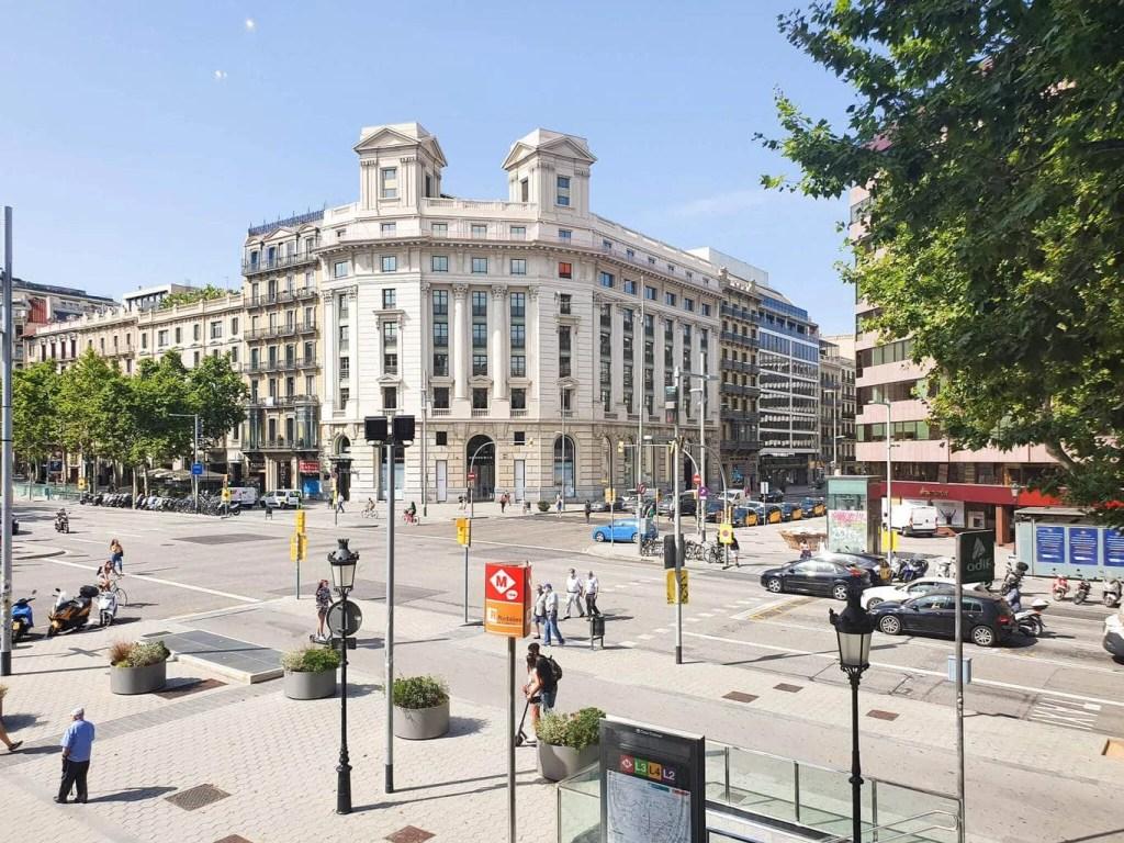 Casa Batllo, Barcelona - Tour Guide & Tips for Visiting- Passeig de Gracia View from Casa Batllo